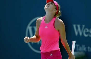 Turneul de la Cincinnati: Simona Halep s-a calificat in optimi