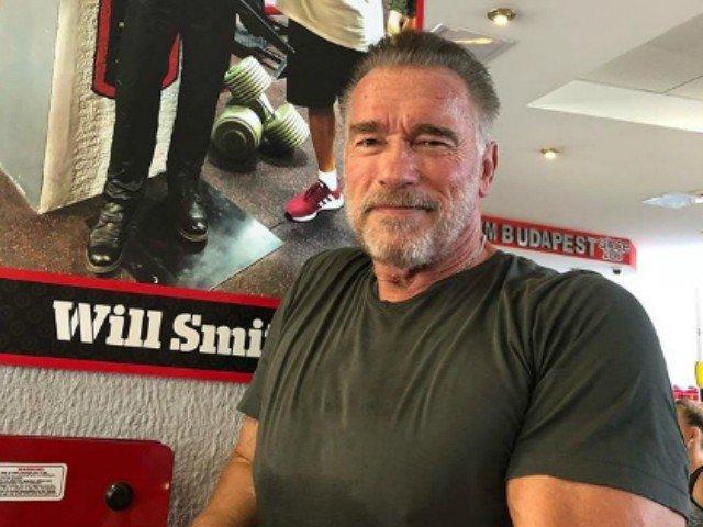Gestul impresionant de incurajare al lui Schwarzenegger pentru un fan depresiv