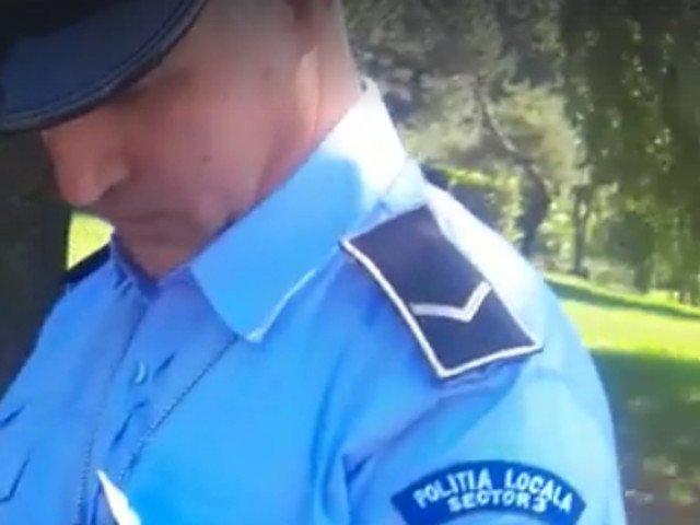 Copil batut de un politist de la Locala pentru ca a prins peste in parcul IOR/ VIDEO