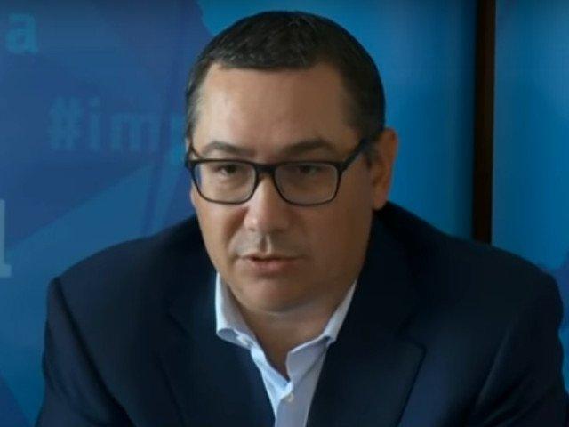 Victor Ponta: M-as bucura sa fie Corina Cretu prim-ministru