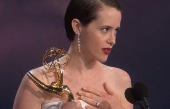 Emmy 2018: Claire Foy, desemnata cea mai buna actrita dintr-un serial dramatic/ VIDEO