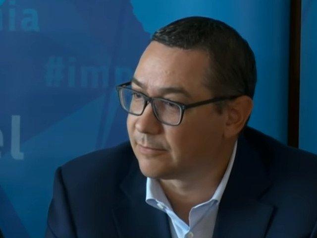Ponta: PSD, PNL si PMP vor deconta politic ticalosia si prostia acestor lideri egoisti