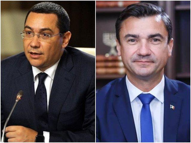 Ponta, despre Chirica: A avut curajul si a ales corect cetatenii Iasiului si nu pe Dragnea