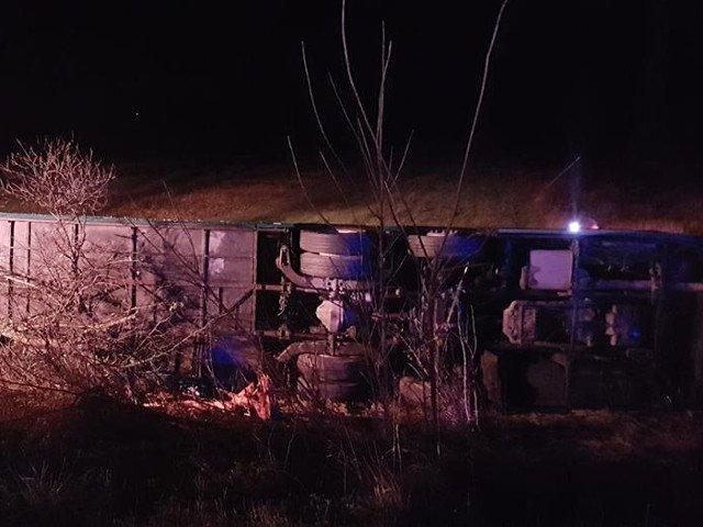 O persoana a murit si 32 sunt ranite dupa ce un autocar s-a rasturnat pe DN7