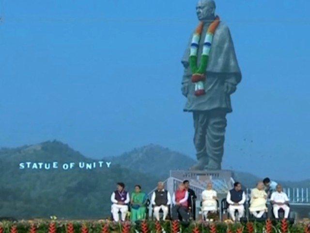 S-a inaugurat cea mai inalta statuie din lume - de doua ori mai mare decat Statuia Libertatii