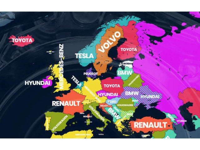 Cele mai cautate marci auto pe Google: Volkswagen este lider in Romania, Toyota castiga in cele mai multe tari