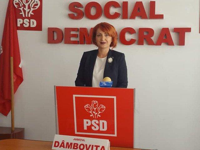 Oana Vladuca (PSD Dambovita): Sustinerea pentru Adrian Tutuianu este totala si neconditionata