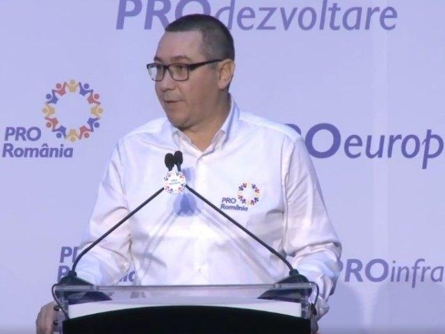 Ponta atentioneaza: Este o politica sinucigasa care ne duce pe drumul dezastrului!