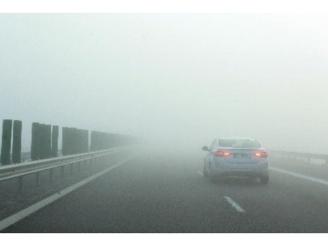 Cod galben de ceata in noua judete, joi dimineata
