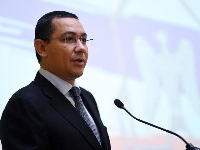 Ponta: In Anul Centenarului Marii Uniri romanii si Romania au dreptul la un simbol national!