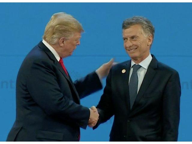 Moment comic la G20. Trump a plecat de pe scena, lasandu-l pe presedintele Argentinei singur / VIDEO
