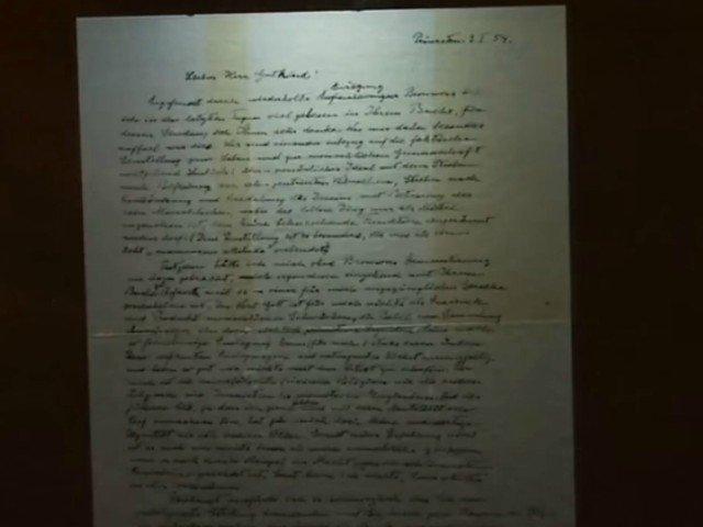 Scrisoarea lui Albert Einstein despre Dumnezeu, vanduta cu aproape 3 milioane de dolari