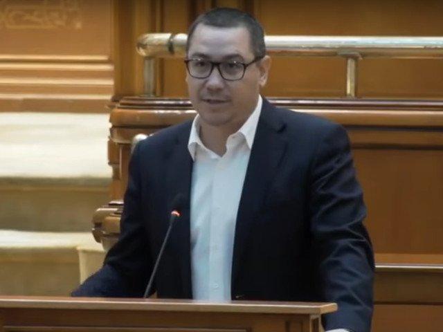Victor Ponta: Vreau sa fie schimbat Guvernul Dancila, dar nu o sa votam niciodata un guvern condus de Orban
