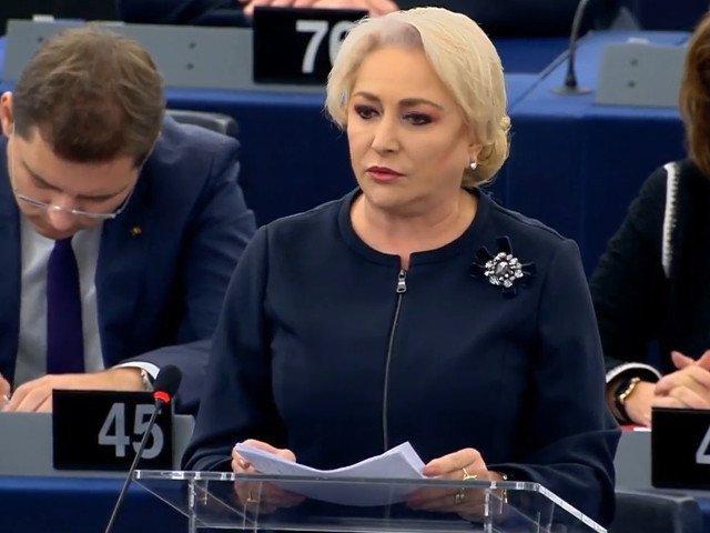 Dancila: Acum, cand guvernul preia Presedintia Consiliului UE, ma asteptam la suport