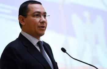 "Ponta, despre ""Alianta Vestului"": Nu ar trebui sa ne sperie deloc"