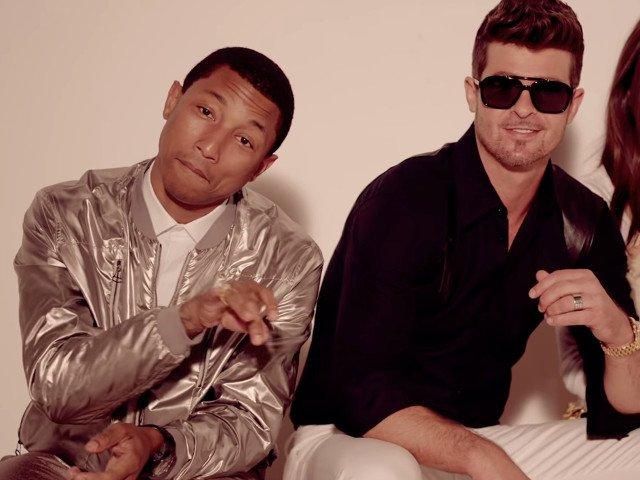 "Cazul ""Blurred Lines"": Robin Thicke si Pharrell Williams trebuie sa plateasca despagubiri de aproape 5 mil. de dolari"