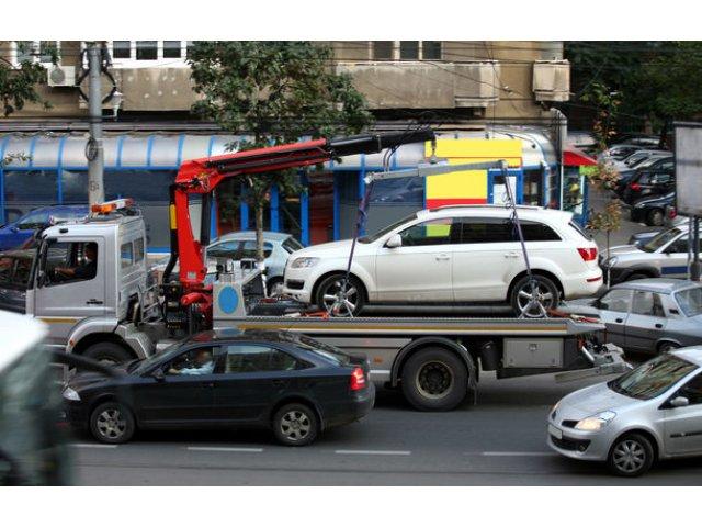 Primaria Capitalei vrea sa ridice masinile parcate neregulamentar: proprietarii vor plati cel putin 500 de lei pentru recuperarea lor