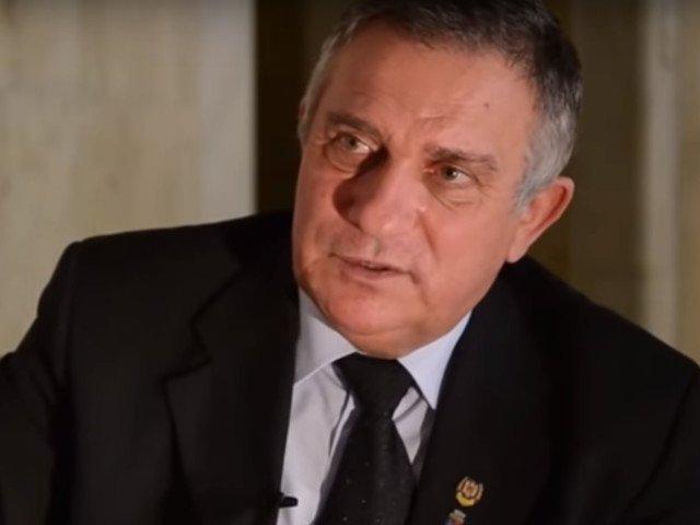 Gheorghe Funar si-a anuntat candidatura la presedintia Romaniei