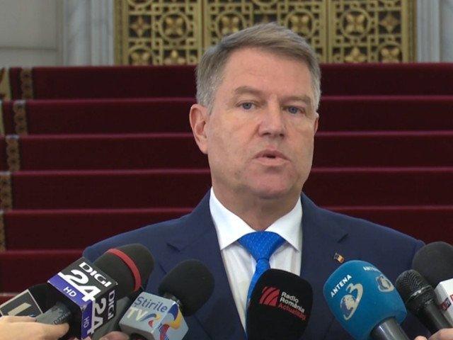Iohannis: Obiectivul meu este castigarea unui al doilea mandat de presedinte/ VIDEO