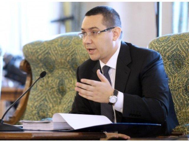 Ponta: Avem presedintia Consiliului, trebuie sa gestionam bugetul UE si noi nu suntem in stare sa-l facem pe al nostru