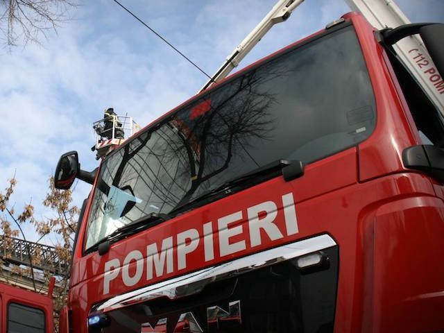 Un azil de batrani din Suceava a luat foc. A fost activat Planul rosu de interventie