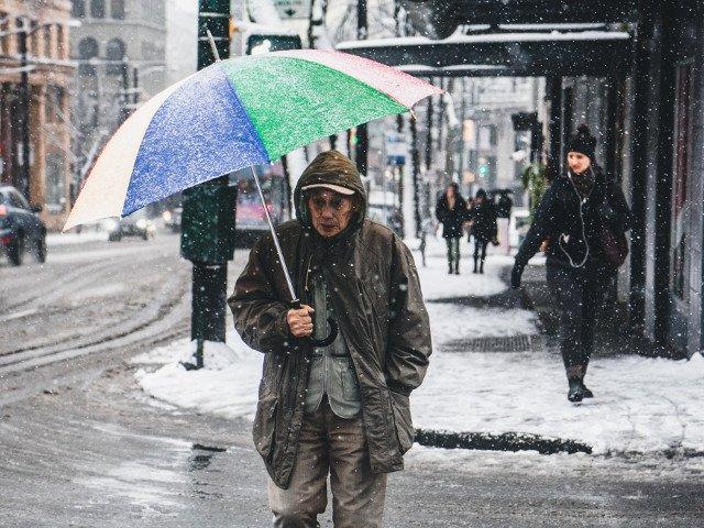 Capitala, sub informare de precipitatii predominant sub forma de ninsoare
