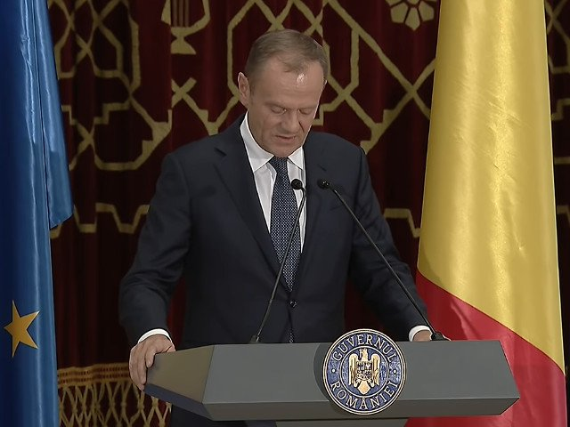 Tusk: Depinde acum de Romania daca si in ce fel Europa va depasi provocarile viitorului/ VIDEO