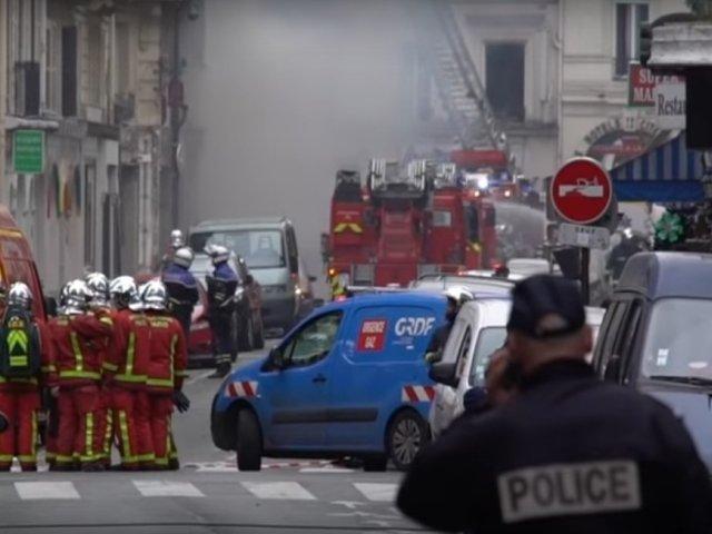 Zeci de persoane, ranite intr-o explozie puternica produsa la o brutarie din Paris/ VIDEO