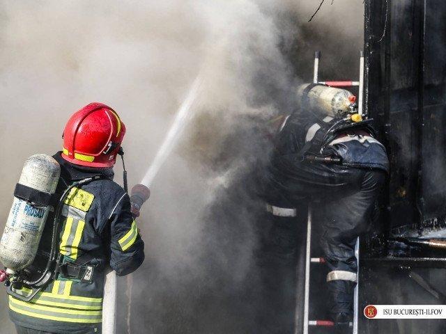 O batrana de 87 de ani a murit intr-un incendiu provocat de o tigara aprinsa