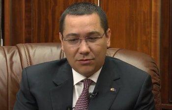 Ponta: In proiectul de buget pe 2019 Guvernul propune sa imprumute 8 miliarde de euro. Banii trebuie platiti de catre romani