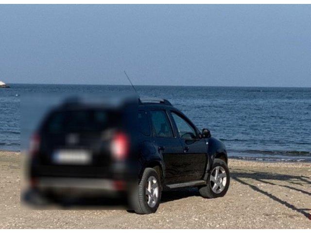 Amenda uriasa primita de o femeie care a intrat cu masina pe o plaja din Constanta