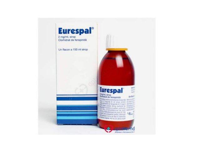 Medicamentul Eurespal, folosit impotriva tusei, retras in urma unei decizii a producatorului