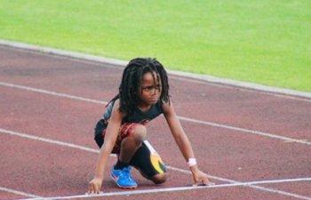 Un baietel de sapte ani ar putea fi cel mai rapid copil din lume