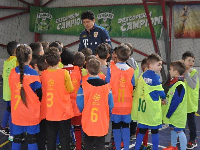 Cupa Tymbark Junior - Elevii se intrec din nou in cea mai mare competitie dedicata micilor fotbalisti