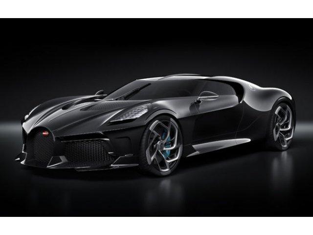 Bugatti prezinta unicatul La Voiture Noire: cea mai scumpa masina noua vanduta in istorie