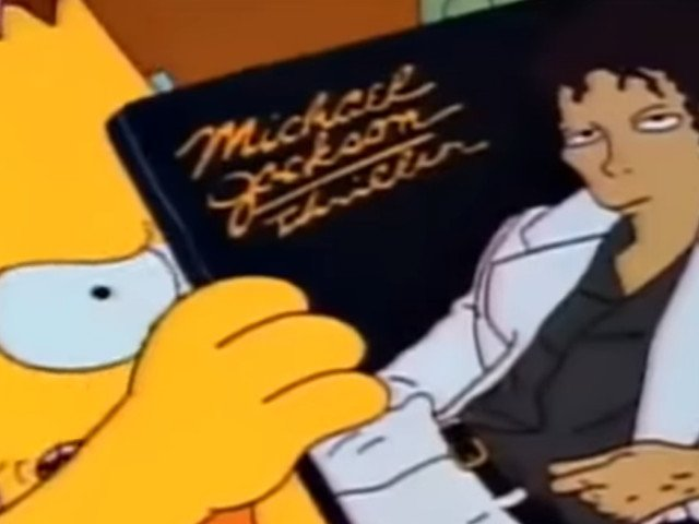 "A fost retras de la difuzare un episod din ""The Simpsons"", in care aparea Michael Jackson"