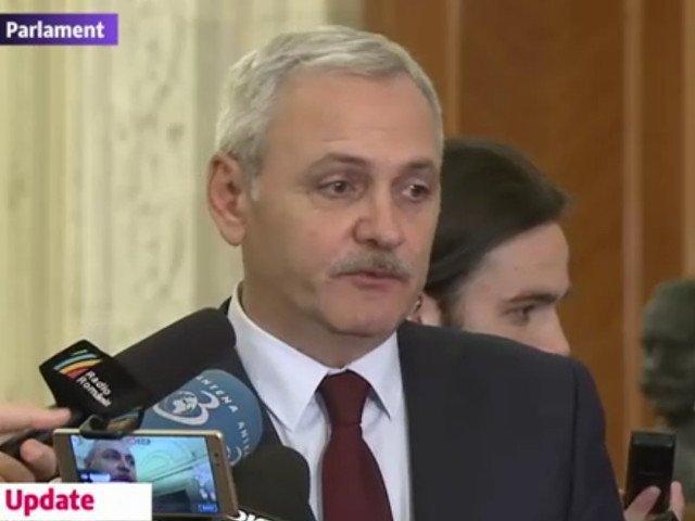 """Dragnea: """"Iohannis nu este seful statului. E in mintea lui seful statului"""""""
