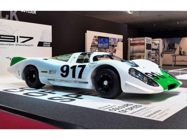 50 de ani de la debutul lui Porsche 917: nemtii marcheaza momentul cu o expozitie speciala in cadrul Muzeului Porsche