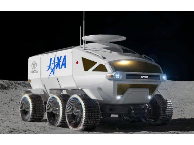 Proiect inedit: Toyota ar putea dezvolta un rover lunar cu echipaj uman pentru agentia spatiala japoneza