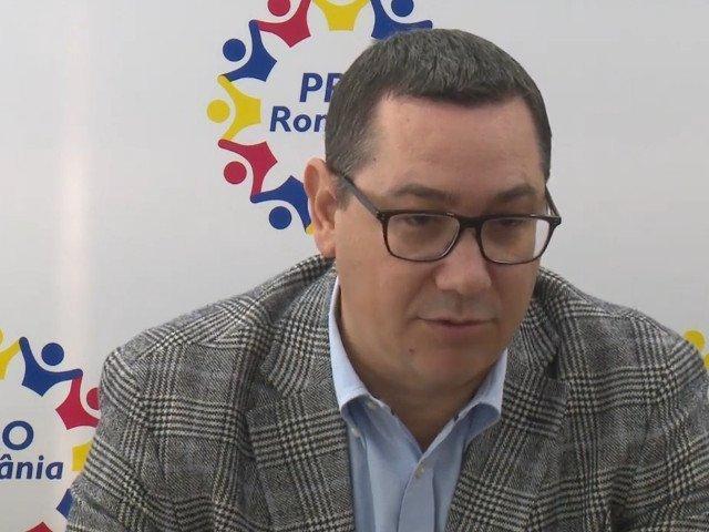 Ponta: Avem un buget - din pacate, neserios si bazat pe date false