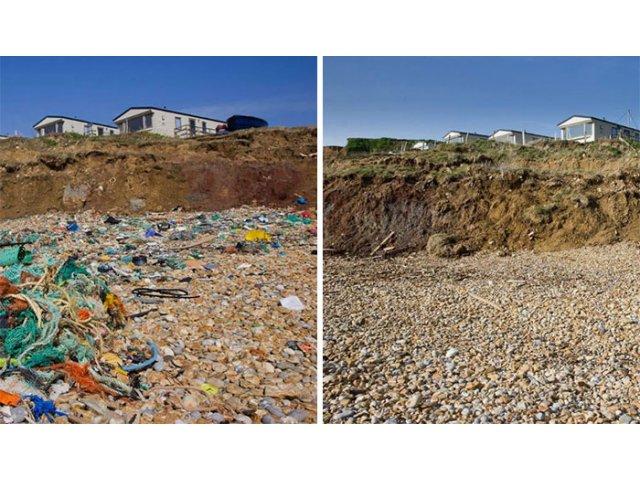 #Trashtag Challenge. 10 imagini cu persoane care au raspuns provocarii de a curata locurile publice