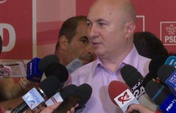 Codrin Stefanescu: Liviu Dragnea are dubla hernie de disc si ramane internat pentru cateva zile
