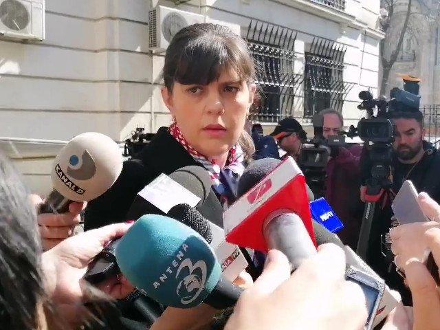 Kovesi, la iesirea de la ICCJ: Nu sunt un om perfect, dar niciodata nu am incalcat legea/ VIDEO