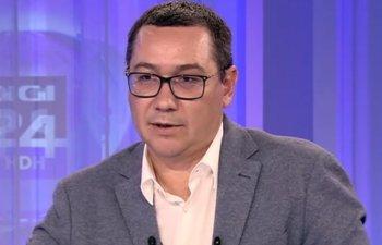 Ponta: Propun ca toti cei care nu sunt in echipa Dragnea sa se gandeasca ca o sa poata doar impreuna sa iasa din groapa asta.