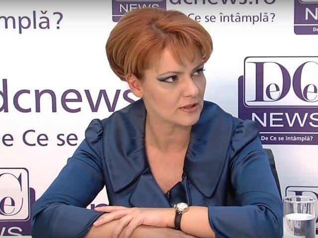 Olguta Vasilescu: Eu zic sa-l lasam pe presedinte sa sada si sa cugete linistit, asa cum cugeta dumnealui de fiecare data
