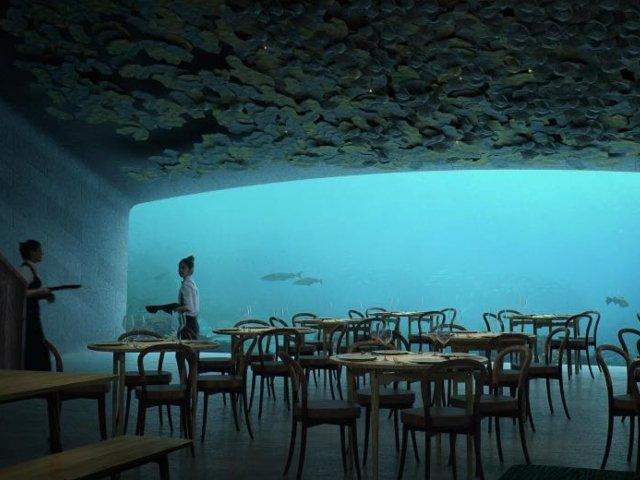 Primul restaurant subacvatic din Europa, deschis in Norvegia