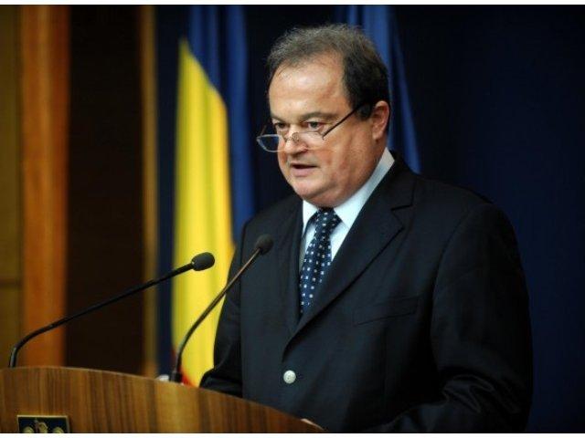 Vasile Blaga: Suntem in competitie cu toate partidele, nu avem prieteni in campania electorala
