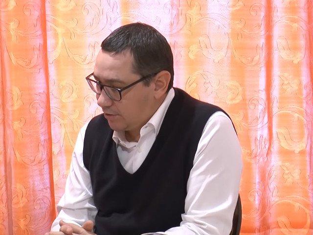 Ponta: Subventia de la buget primita de PSD este cea mai mare din Europa. Asta e hotie - nu social democratie