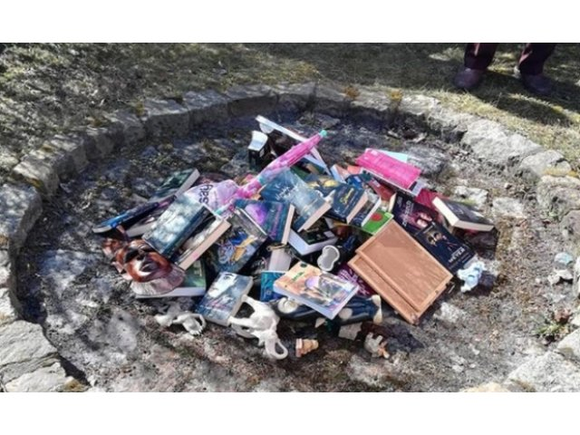 Preotul care a ars mai multe carti 'Harry Potter' si 'Twilight' si-a cerut scuze