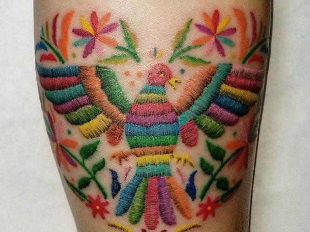Desenele-broderie, noul trend in materie de tatuaje. 10+ modele deosebite